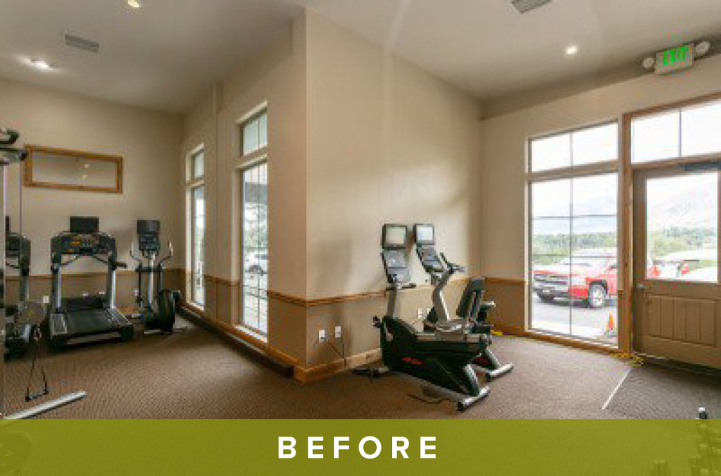 ReNew Canyon Ridge Fitness Center Before